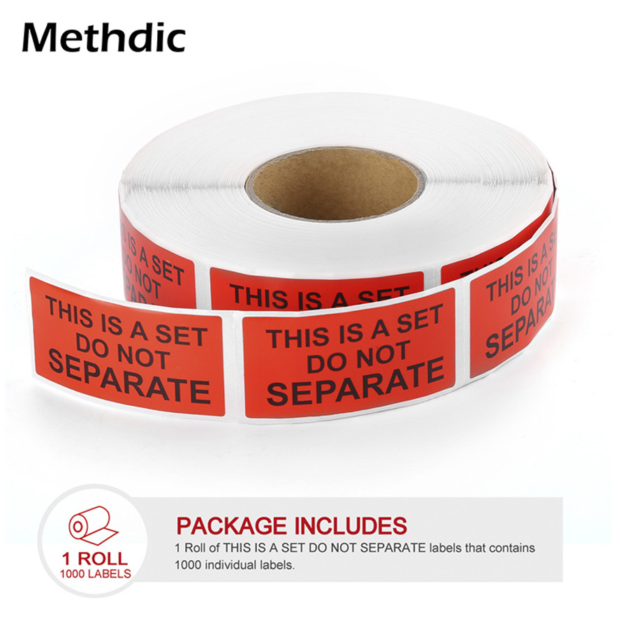 Custom Adhesive 1x2 Sticker Fragile Label Roll For Carton Packing
