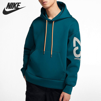 Original New Arrival NIKE FLEECE TOP Men's Pullover Hoodies Sportswear