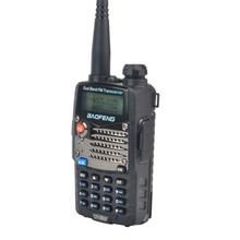Walkie walkie Portable VHF/UHF, double bande, taklie baofeng, 128ch, radio FM bidirectionnelle avec écouteur