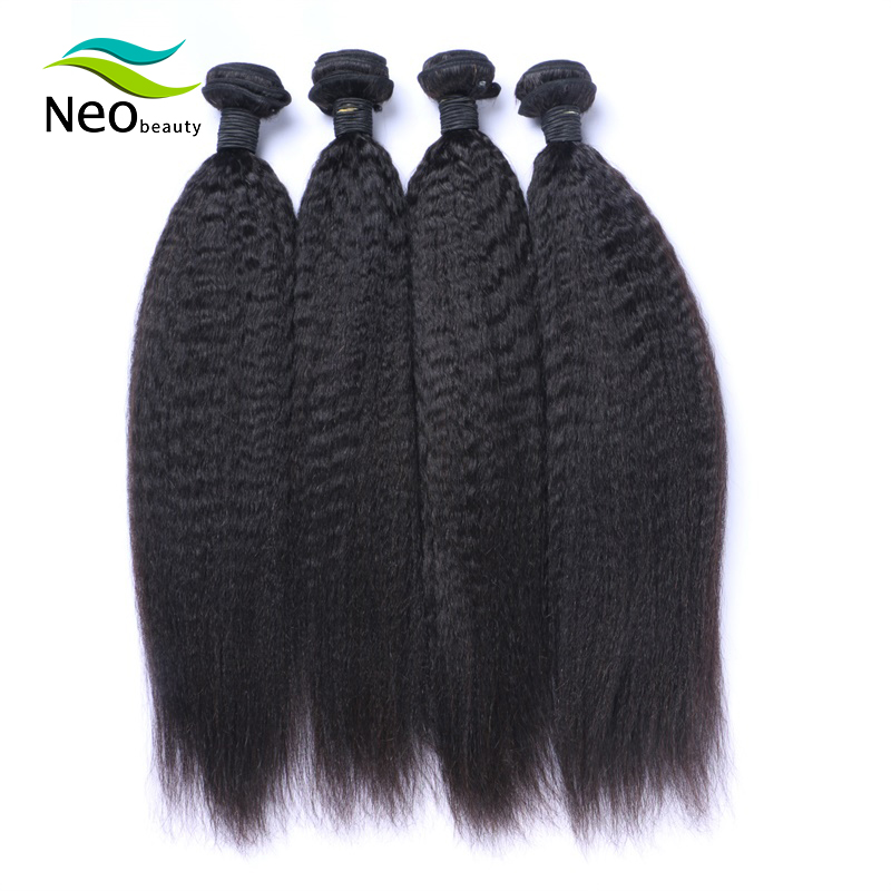 8-30 <font><b>Grade</b></font> <font><b>10A</b></font> Kinky Straight Bundles Unprocessed Virgin burmese Human <font><b>Hair</b></font> Weave Very Soft 3 & 4 Bundles image