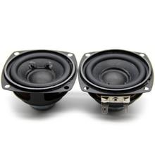 Audio Speaker Magnet Multimedia Bass Full-Range 4ohm 10w 66MM 2pcs Neodymium