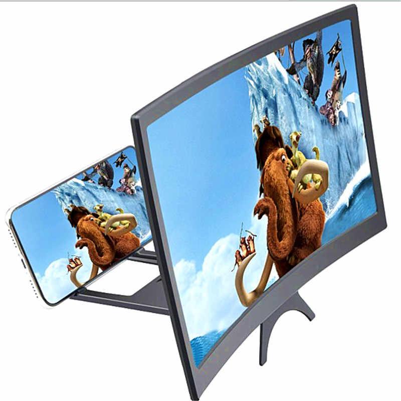 """/""""N//A/"""" Lupa de Pantalla de Tel/éfono 12 HD Amplificador de Pantalla para Smartphone Port/átil Proyector para Movil con Soporte Adecuada para Ver Videos de Pel/ículas en Todos Los Tel/éfonos Inteligentes"""