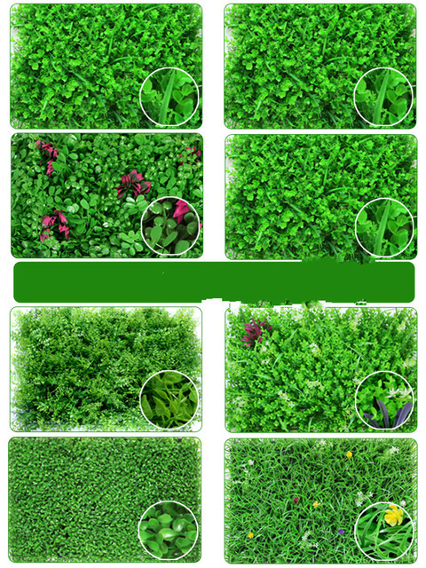 40x60cm Artificial Green Plant Lawns Carpet for Home Garden Wall Landscaping Green Plastic Lawn Door Shop Backdrop Image Grass 1