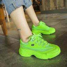 Brand Chunky Sneakers Women Vulcanize Shoes