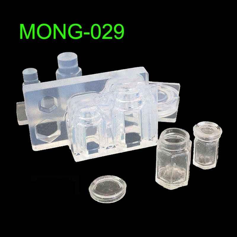 Uống Bình Cà Phê Hũ Mật Ong Nhựa Khuôn Silicone Nhựa Dính Trang Sức Dụng Cụ