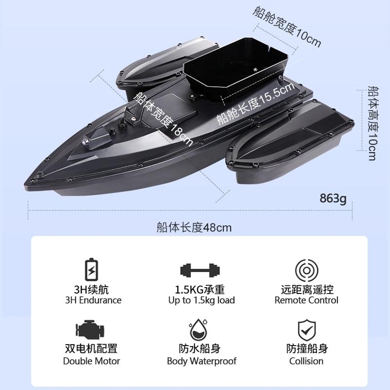 horas bateria vida inventor dos peixes barco