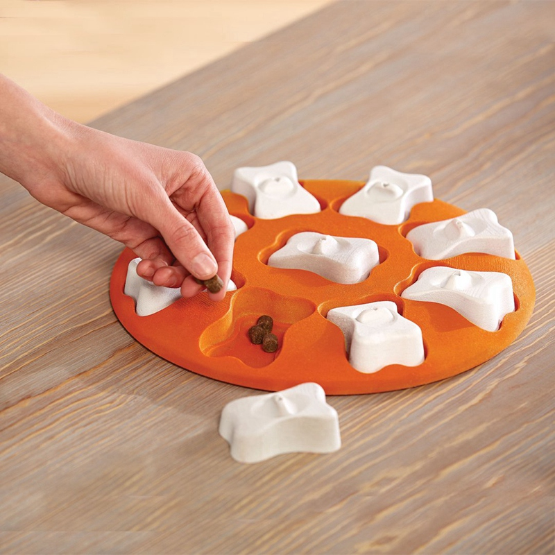 Beginner Dog Puzzle Toy-Engaging and Interactive Treat Dispensing Game for Your Dog'S Toy Box