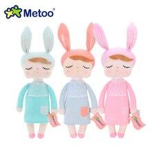 Toys For Girls Plush Rabbit Bunny Metoo Stuffed Dolls Soft Kawaii Angela Reborn Babies Kid Children Christmas Birthday Gifts