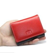 HH Genuine Leather Women's Wallets Small Luxury Mini Female