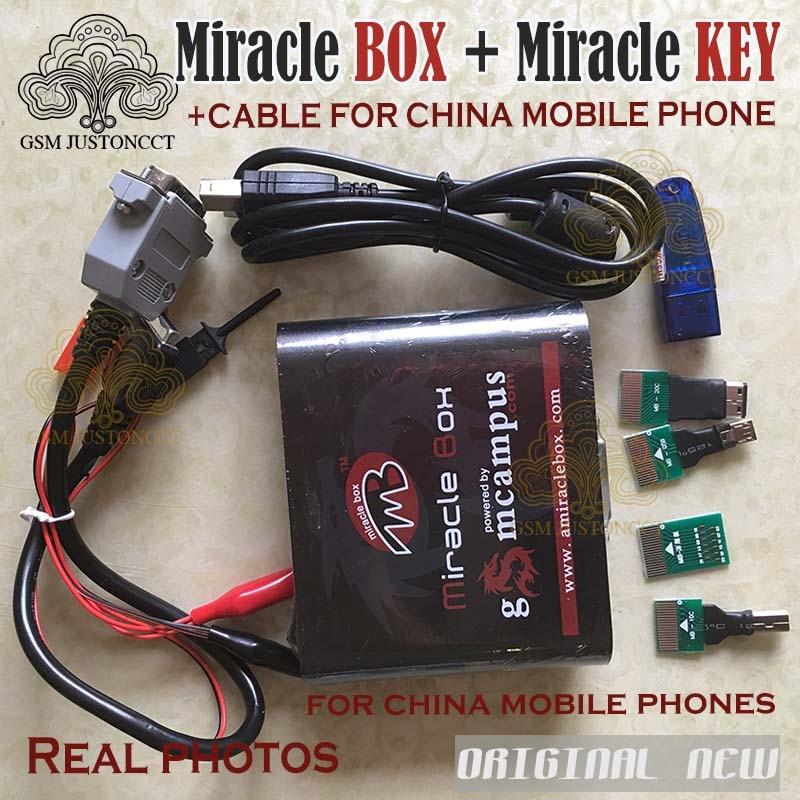 Новинка 2021, чудо-коробка с ключом чудо + кабель для китайских мобильных телефонов, разблокировка, ремонт, разблокировка