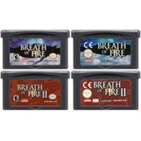 32 Bit Video Spiel Patrone Konsole Karte für Nintendo GBA Atem von Feuer Serie
