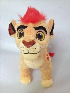 Image 2 - את האריה משמר Kion בפלאש צעצוע חמוד חיות פרווה 35cm 14 תינוק ילדים בני ילדים מתנות