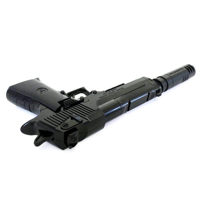 DIY Assembling Toys Military Gun Weapon Pistol Gunshot Kid Boys Gift Outdoor Game Toys Assembled Toy Gun Blocks For Children