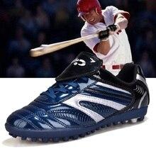Большие европейские размеры 34-46; мужская бейсбольная обувь для взрослых; нескользящие дышащие кроссовки для тренировок; обувь с шипами для софтбола