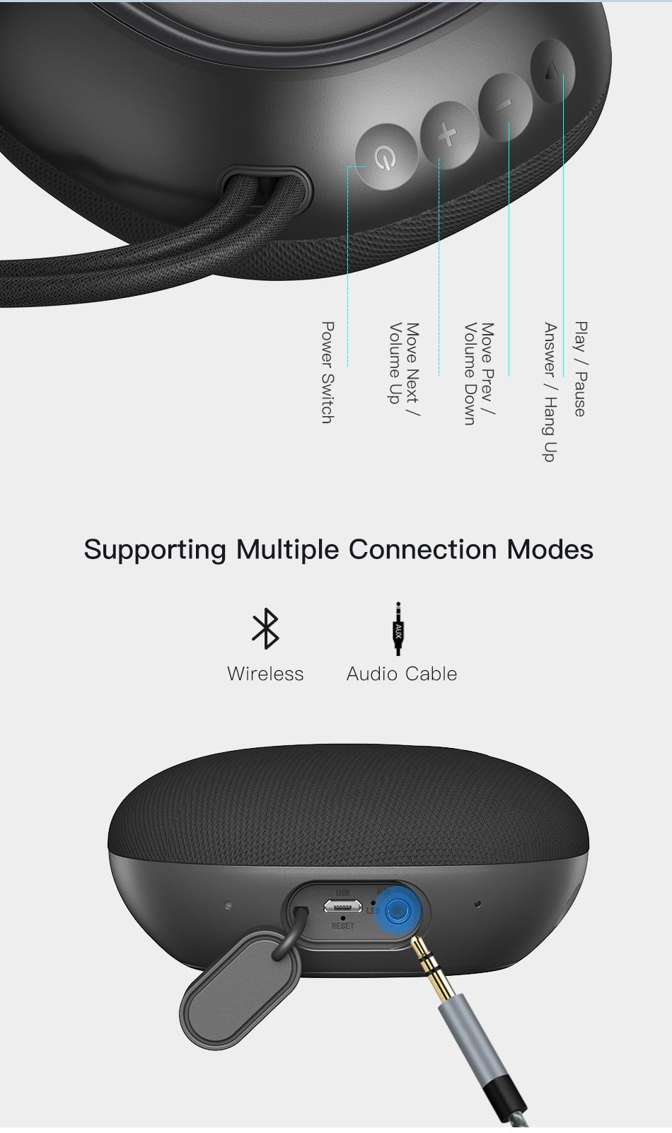 Awei Y336 Portable Wireless Mini Speaker 6