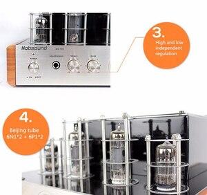 Image 3 - Nobsound MS 10D tubo amplificador de potência áudio 25 w * 2 amplificadores de vácuo suporte 110 v ou 220 v amplificador de alta fidelidade ms 10d
