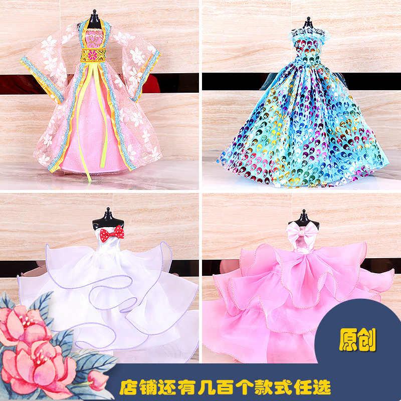 12 zoll Puppe Kleidung Hochzeit Kleid Puppenhaus Zubehör Dressing Tuch Baby Mädchen Kleidung Amerikanische Mädchen Puppe Kleidung Spielzeug