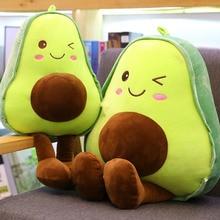 Dolls Cushions Avocado Pillow Plush-Toys Fruit Stuffed Kawaii for Children Christmas-Gifts