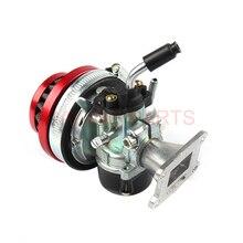 Производительность 19 мм карбюратор воздушный фильтр для 37cc с водяным охлаждением 2-х тактный 47cc 49cc мини грязь Pocket Bike ATV Quad мотокросс