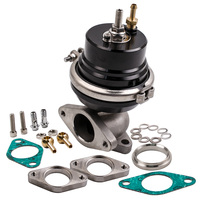 Universal 2 bolt External 38mm Turbo Wastegate Bypass Exhaust + Spring PSI