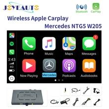 Joyeauto Wifi беспроводной Carpaly Mercedes C Class w205 NTG 5,1 5,2 5,5 Apple Car Play iOS13/Android видео плеер адаптер для Benz
