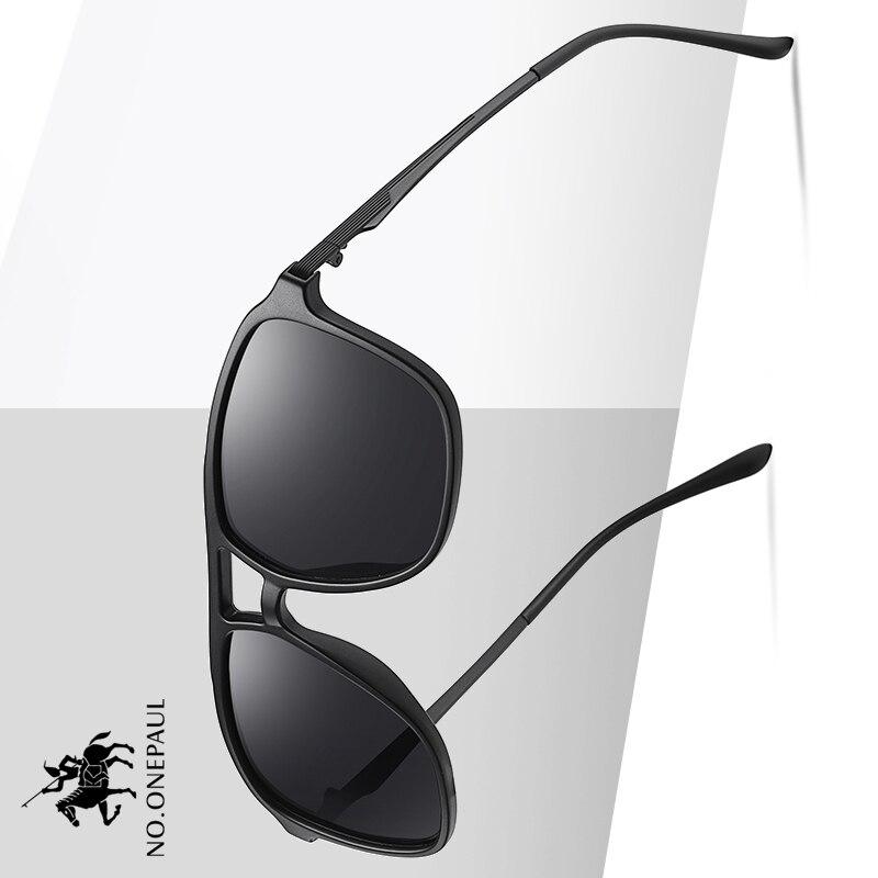 NO.ONEPAUL Style Sun Glasses Male Goggle UV400 Gafas De Sol NEW Ultralight Polarized Sunglasses Men Women Driving Square