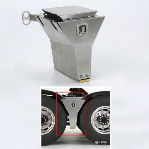 LESU Car Model Metal Tool Box Tank for 1//14 RC DIY TAMIYA Tractor Truck Trailer