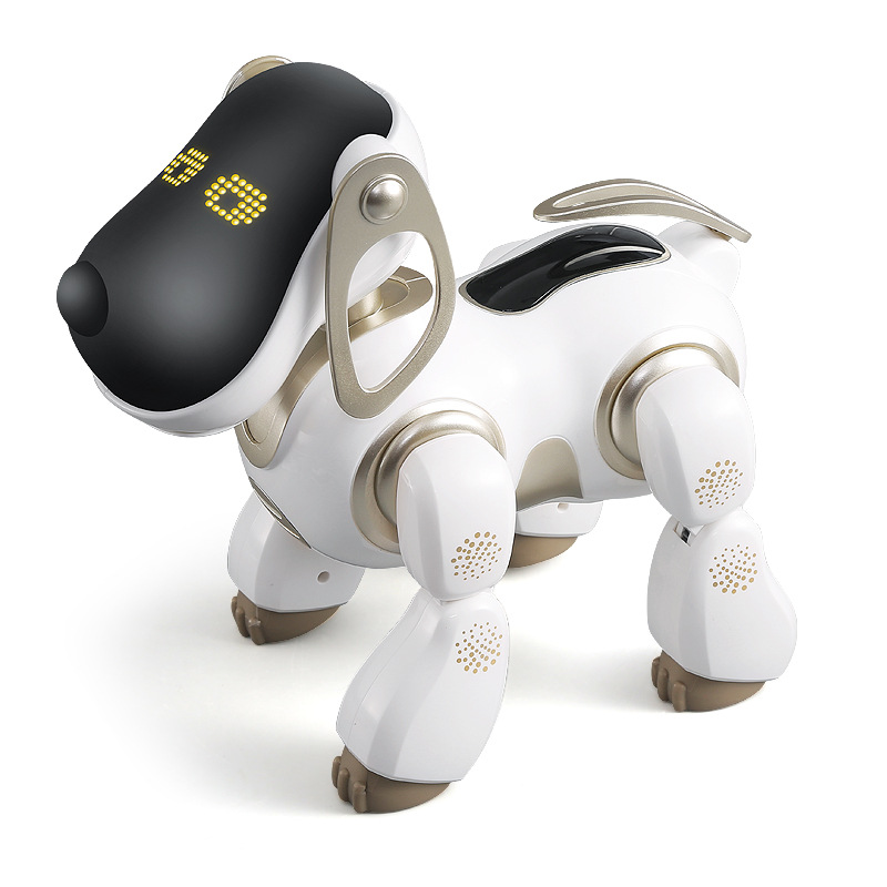 AMWELL Robot Dog 2099 Brady Intelligent Voice Dialogue Robot Dog Electric Remote Control Pet Toy