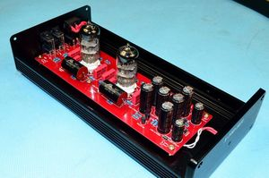 Image 3 - X 10D 2.0 original circuit HiFi 6N11 tube buffer audio signal tube preamplifier With AC12V power adapter