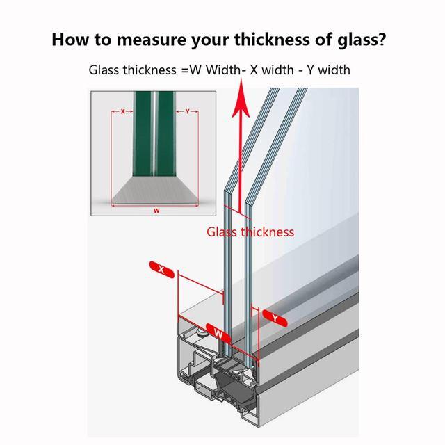 baffect Doppelseitiger Fensterreiniger  5