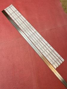 Image 2 - جديد 5 قطعة/الوحدة 10LED 777 مللي متر LED شريط إضاءة خلفي لشركة هيتاشي LE40S508 C400F13 E2 C (G2) RF AB400E32 1001S 01 A7