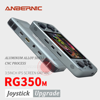 ANBERNIC RG350M Retro Games Aluminum Alloy IPS Screen PS1 Family gift Video Games console Emulators Handheld Game Player RG351
