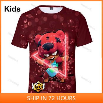 Koszulka dziecięca Sandy Max VOID GENE i gwiazda Leon odzież dziecięca strzelanka 3d Swearshirt chłopcy dziewczęta topy Tshirt ubranka dla dzieci tanie i dobre opinie FORTNITE CN (pochodzenie) 25-36m 4-6y 7-12y 12 + y POLIESTER Movie Anime Gaming Cosplay 3D Digital Printed Slant Patch Pocket