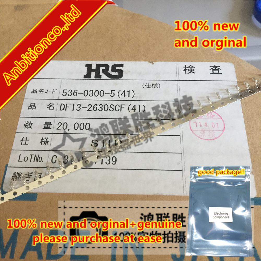 10-100pcs 100% New Original DF13-2630SCF Line Diameter:26-30AWG In Stock