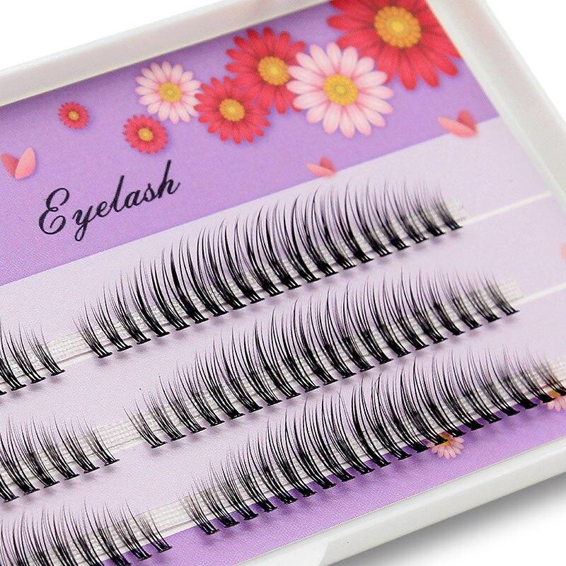Kimcci C/D/DD Curl 8-12mm Mix 3D Mink Eyelash Extension Prfessional Russian Volume Faux Eyelashes Makeup False Fake Lashes Cilio