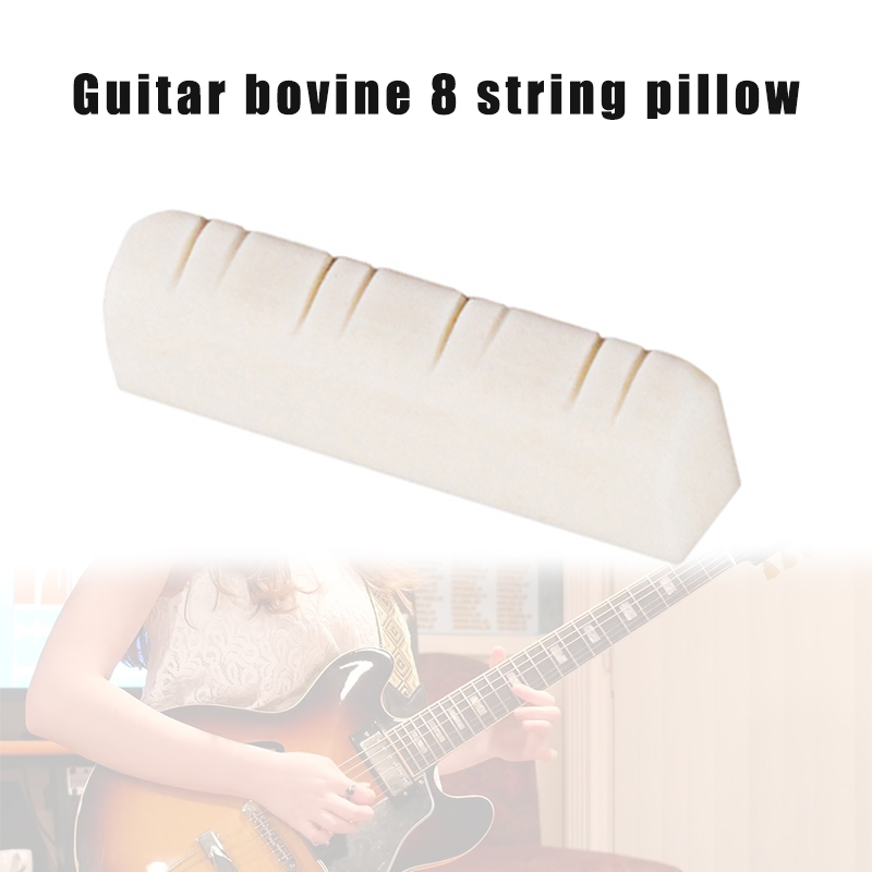 Newly 1 Pcs 8 String Mandolin Upper Nut Bone Portable Musical Instrument Accessories S66