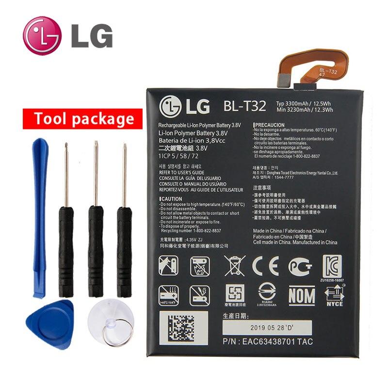 NEW Original LG BL-T32 Internal Battery For LG G6 G600L G600S G600K G600V H870 H871 H872 H873 LS993 US997 VS988 3300mAh