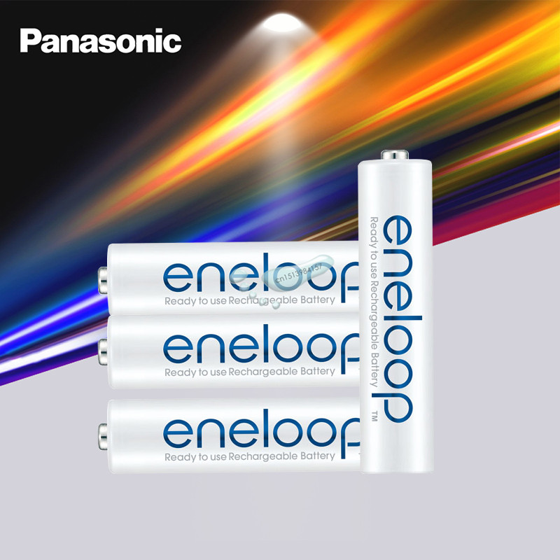 Original Panasonic Eneloop Rechargeable Batteries AAA 800mAh 1.2V NI MH Camera Flashlight Toy Pre Charged|Replacement Batteries| |  - title=