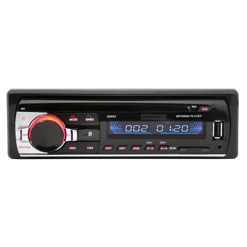 ARuiMei Car MP3 Player Car Radio Stereo MP3 Player Digital Bluetooth 60Wx4 FM Audio Music USB / SD with In Dash AUX Input image