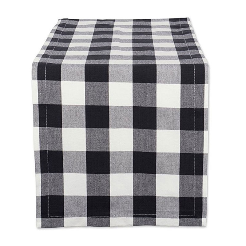 30x180cm 100% Cotton Table Runner Buffalo Plaid Table Cloth Rectangle Modern Table Runners For Home Wedding Party Hotel Banquet