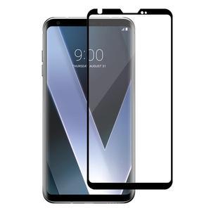 Image 3 - 3D 9H מלא כיסוי שחור מסך מגן עבור LG V30 V40 בתוספת V50 מזג זכוכית מגן זכוכית סרט קצה כדי קצה מלא כיסוי