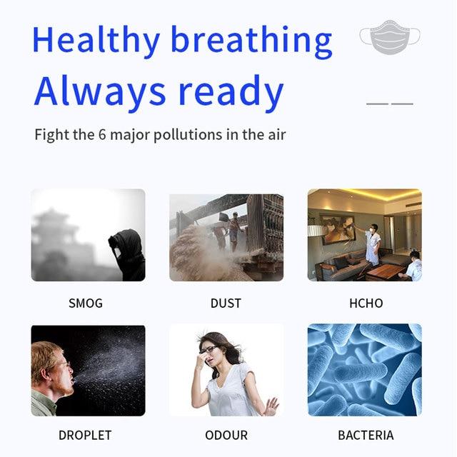 FFP2 mask Face mask KN95 Mouth Mask Safety Antibacterial Maske soft 95% Filtration protect mask dust  mascarillas tapabocas 3