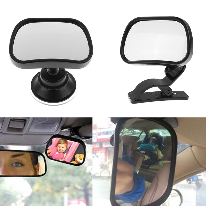 2 Site Car Baby Back Seat Rear View Mirror for Infant Child Toddler Safety View