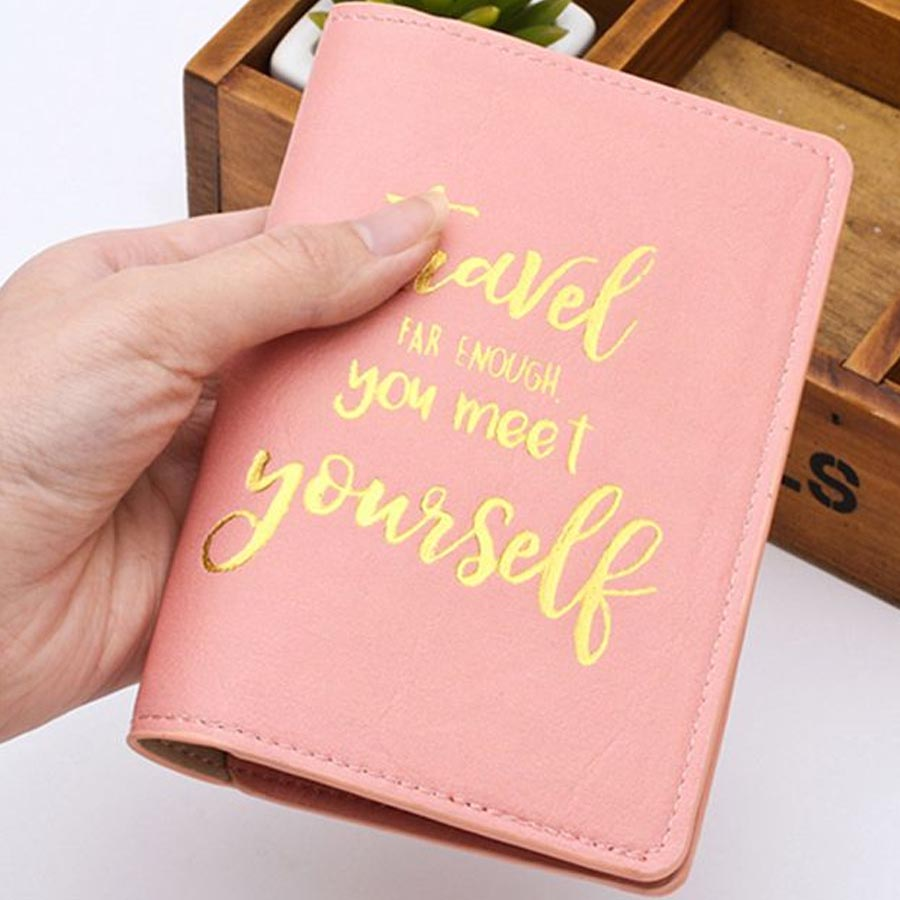 New Travel Passport Cover Card Case Women Men Travel Credit Card Holder Travel ID&Document Passport Holder Wallet CH02G