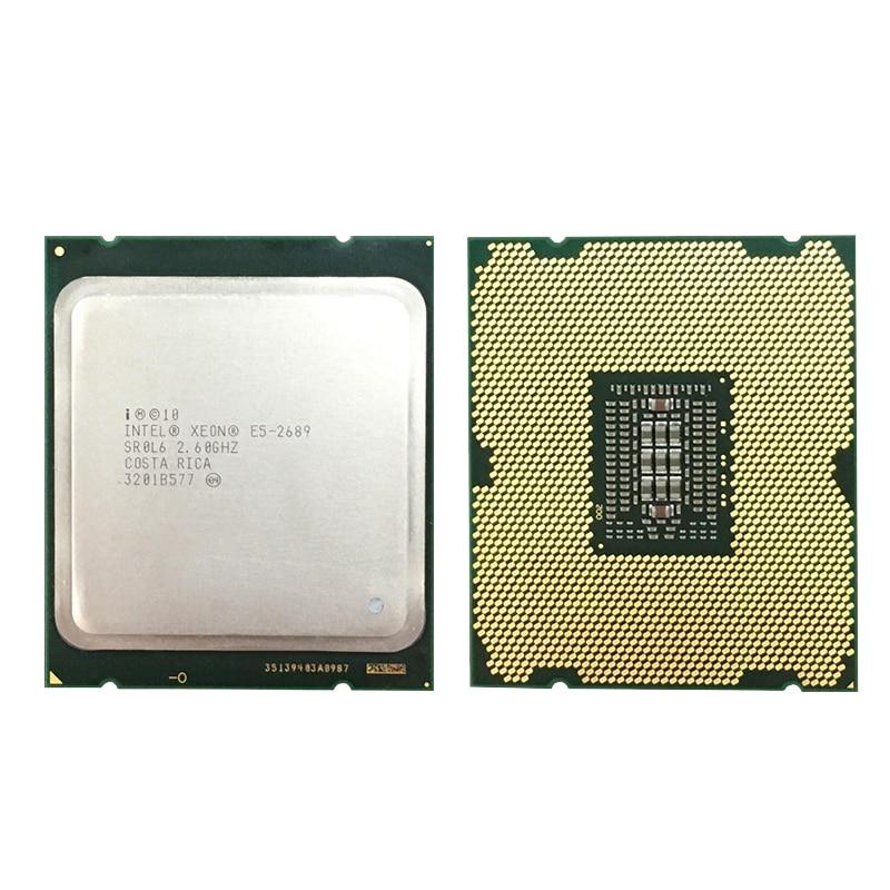 Intel Xeon E5 2689 LGA 2011 2 6GHz 8 Core 16 Threads CPU Processor E5 2689 Intel Xeon E5 2689 LGA 2011 2.6GHz 8 Core 16 Threads CPU Processor E5-2689