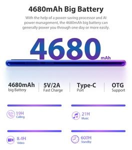 Image 3 - Blackview nouveau téléphone portable A80 Plus Octa Core 4GB RAM + 64GB ROM IMX 13MP caméra arrière identification des empreintes digitales Waterdrop 4G téléphone portable