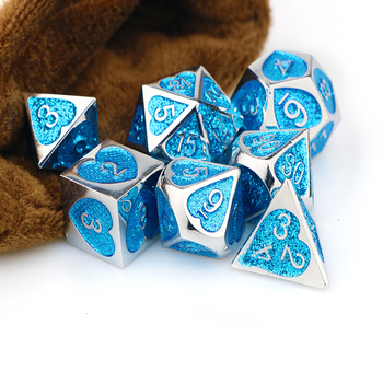 Dnd dice sets polyhedral dice set dnd dice set tabletop rpg dice d20 dice blued&d dice with bag 7pcs D4 D6 D8 D10 D12 D20 10pcs d10 sided polyhedral dice for tabletop rpg world of darkness vampire set of 10 d10