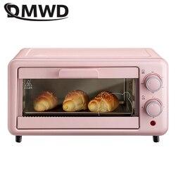 DMWD Multi-function electric oven bake home small oven temperature control mini cake oven 11L