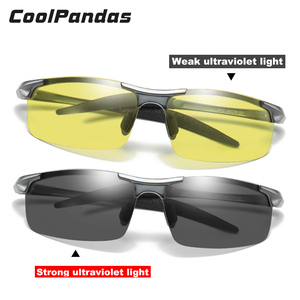 Image 3 - CoolPandas Unisex Night Visionแว่นตาPhotochromicแว่นตากันแดดขับรถสีเหลืองเลนส์Anti Glare Goggleแว่นตาUV400