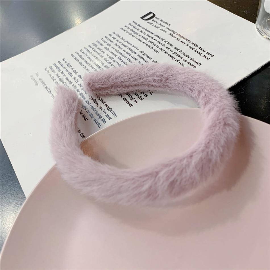 angora hairbands ferramentas estilo do cabelo acessório ha1718